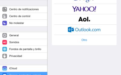 Configurar el correo premium en el iPad